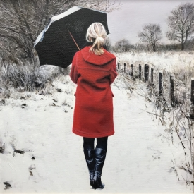 This Winter Day 50 x 50cm £2500 (0259)