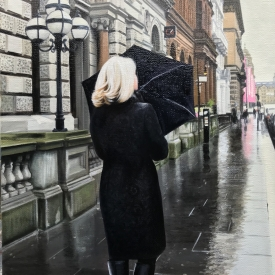 Rain in the City 60 x 40cm £2500 (0266)