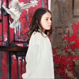 Angel 50 x 50cm £2500 (0296)