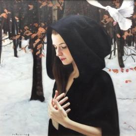 Autumn Song 2 50 x 50cm - £2500 (0009)