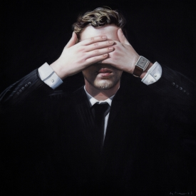 No evil triptych 50cm x 50cm