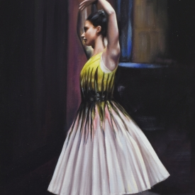 Little Dancer 60 x 40cm