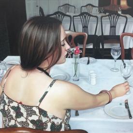 Girl at the Glasgow Art Club - 60 x 90cm £5,200 (0066)