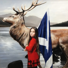 Highlands 80 x 80cm £5950 (0331)