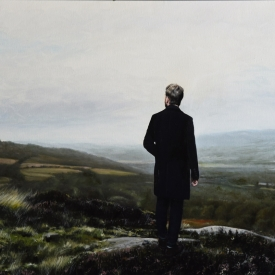 The View from Croy Hill 70 x 100cm £5750  (0299)