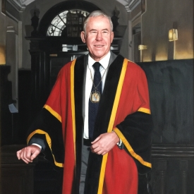 Frank Dunn - President of the Royal College of Physicians and Surgeons 80 x 110cm