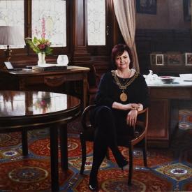 Sadie Docherty - 120 x 120cm