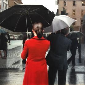 Rain on St Vincent Crescent 50cm x 50cm