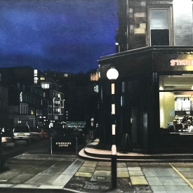 Capital at Night 60cm x 80cm