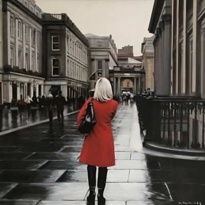 Red Coat in the City
