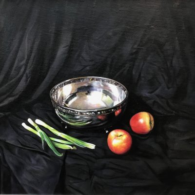 Still Life with Silver Bowl