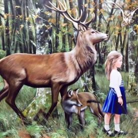 Danae (the Huntress) 90 x 130cm £9,750 (0194)
