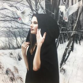 Winter no2 60 x 60cm £3,500 (0141)