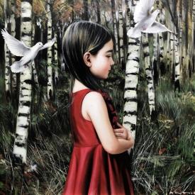 October Song 60 x 60cm £3500 (0252)