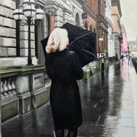 Rain in the City 60 x 40cm £2500 (0266)