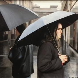 City in the Rain 50 x 50cm £2,500 (0056)