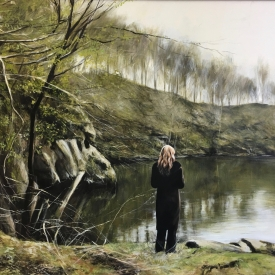 The Weight of Silence 120 x 90cm £10,750 (0073)