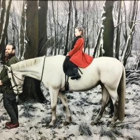 To journey in winter - 120 x 90cm £12500 (0112)