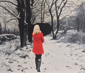 Winters Path - 45 x 60cm £2500 (0196)