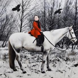 This Winter Journey 100 x 110cm £10750 (0304)