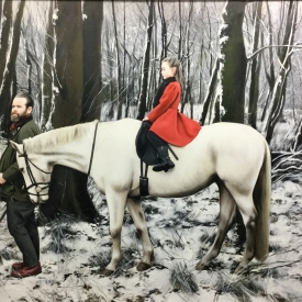 To journey in winter - 120 x 90cm £12,500