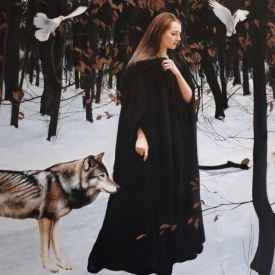 On into Winter - 120 x 180cm £25,000 (0126)