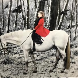 The winter journey 100 x 120cm £10750 (0348)