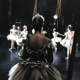 Dancer backstage 60 x 40cm £2500 (0353)