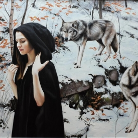 Winters cloak - 100 x 150cm £14,500 (0128)