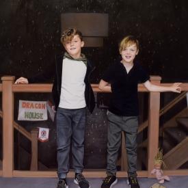 The Boyle Boys 120 x 120cm