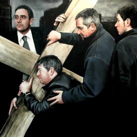 The Cross (art expo) 120cm x 120cm