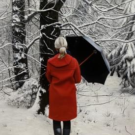Snow Covered Trees 50cm x 70cm