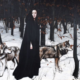 A Song of Winter 120cm x 180cm