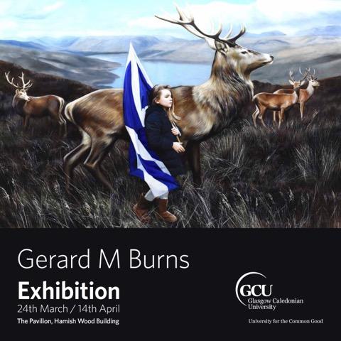 Gerard M Burns - GCU Exhibition