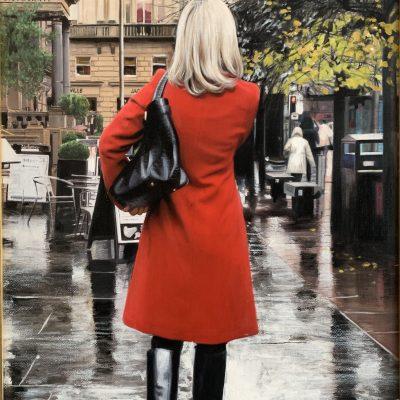 Red Coat on St Vincent Crescent
