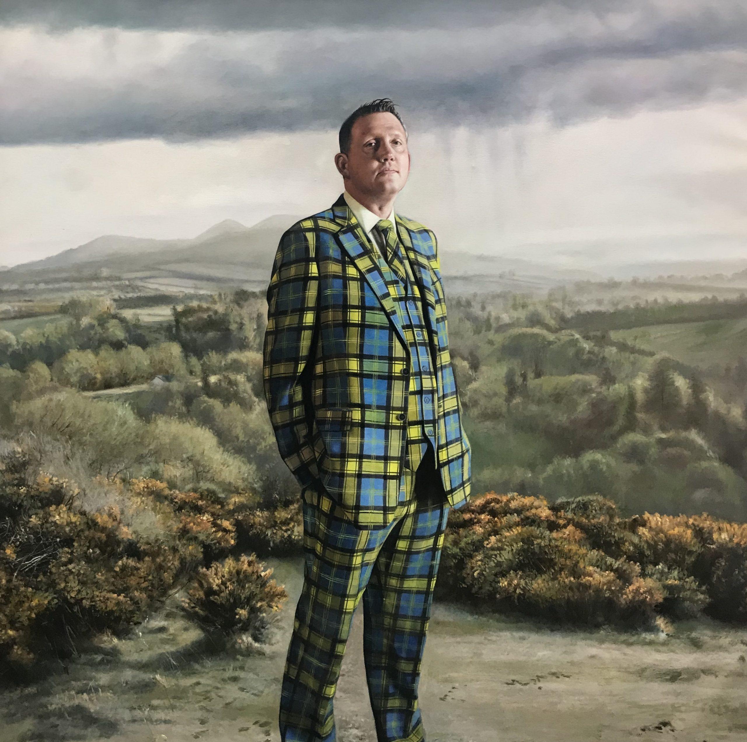 Gerard M Burn - Portrait of Doddie Weir